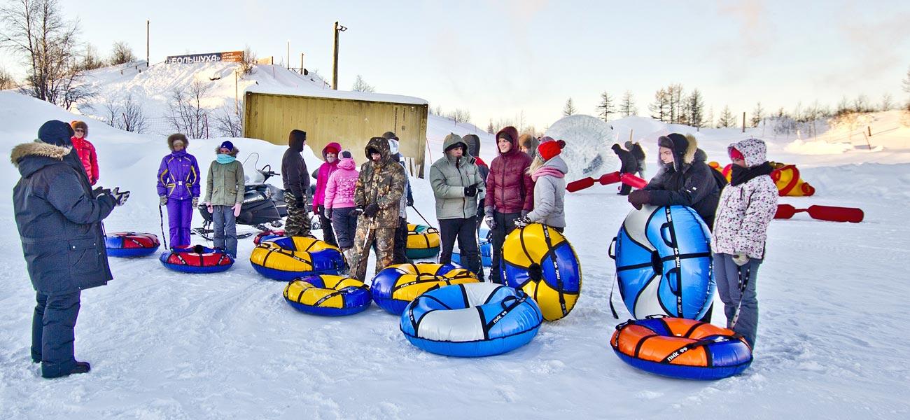 Dzieci na feriach zimowych