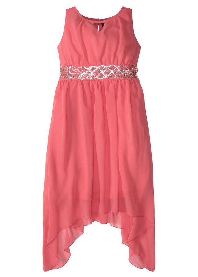sukienka-z-cekinami-koralowy